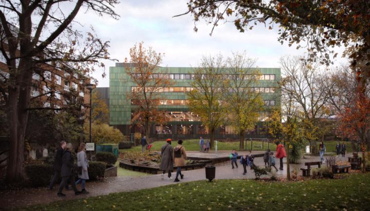 英国零碳办公楼落成,开启可持续设计新思路_4