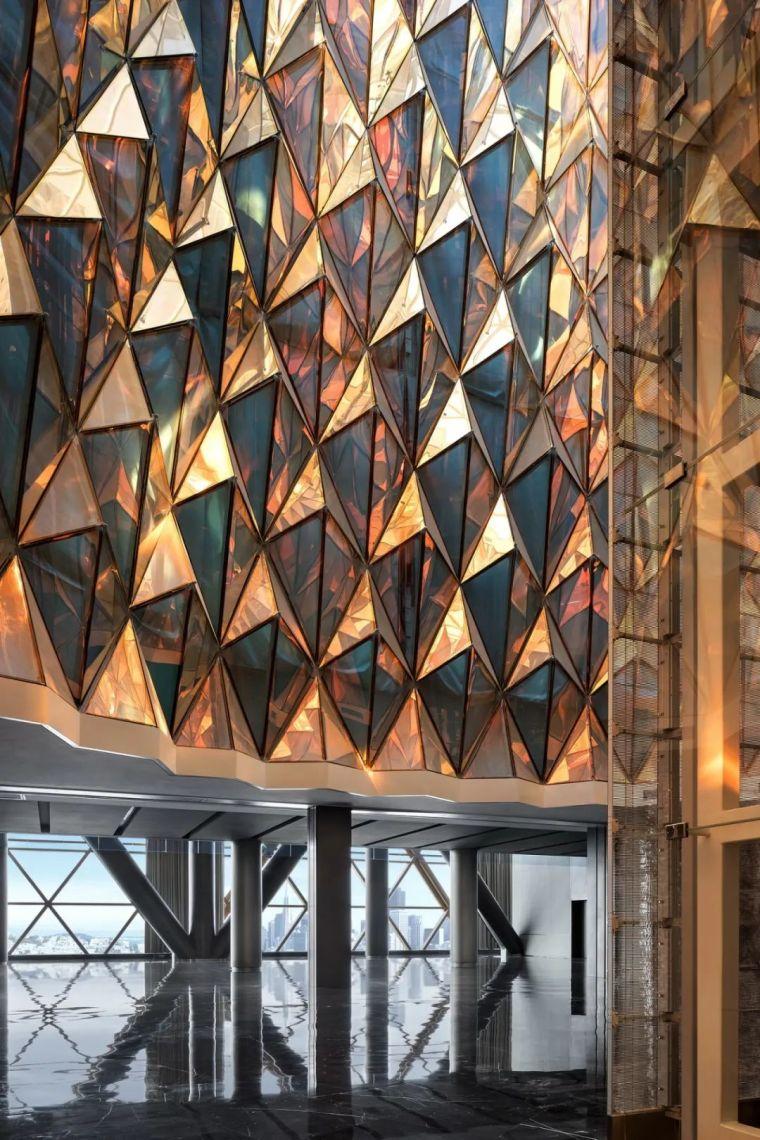 全球最高的三塔连体建筑_南京金鹰世界设计_21