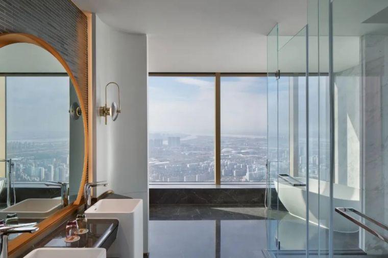 全球最高的三塔连体建筑_南京金鹰世界设计_39