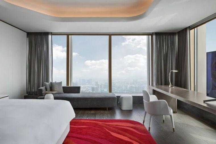 全球最高的三塔连体建筑_南京金鹰世界设计_41