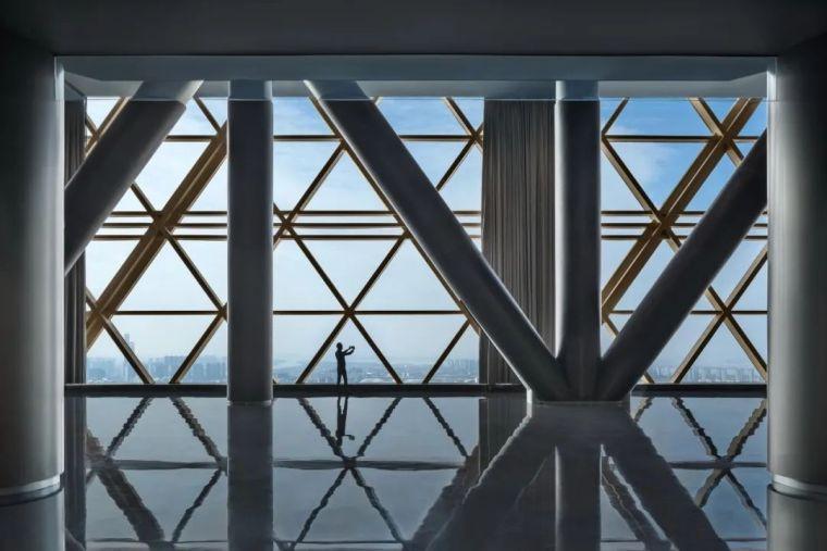 全球最高的三塔连体建筑_南京金鹰世界设计_11