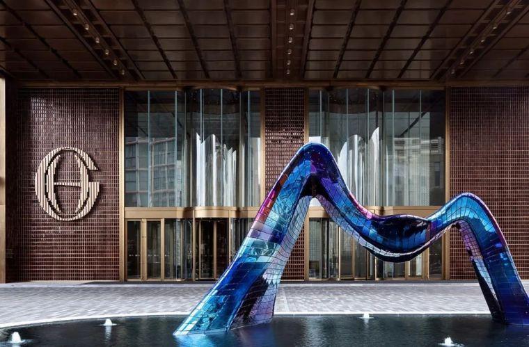 全球最高的三塔连体建筑_南京金鹰世界设计_10