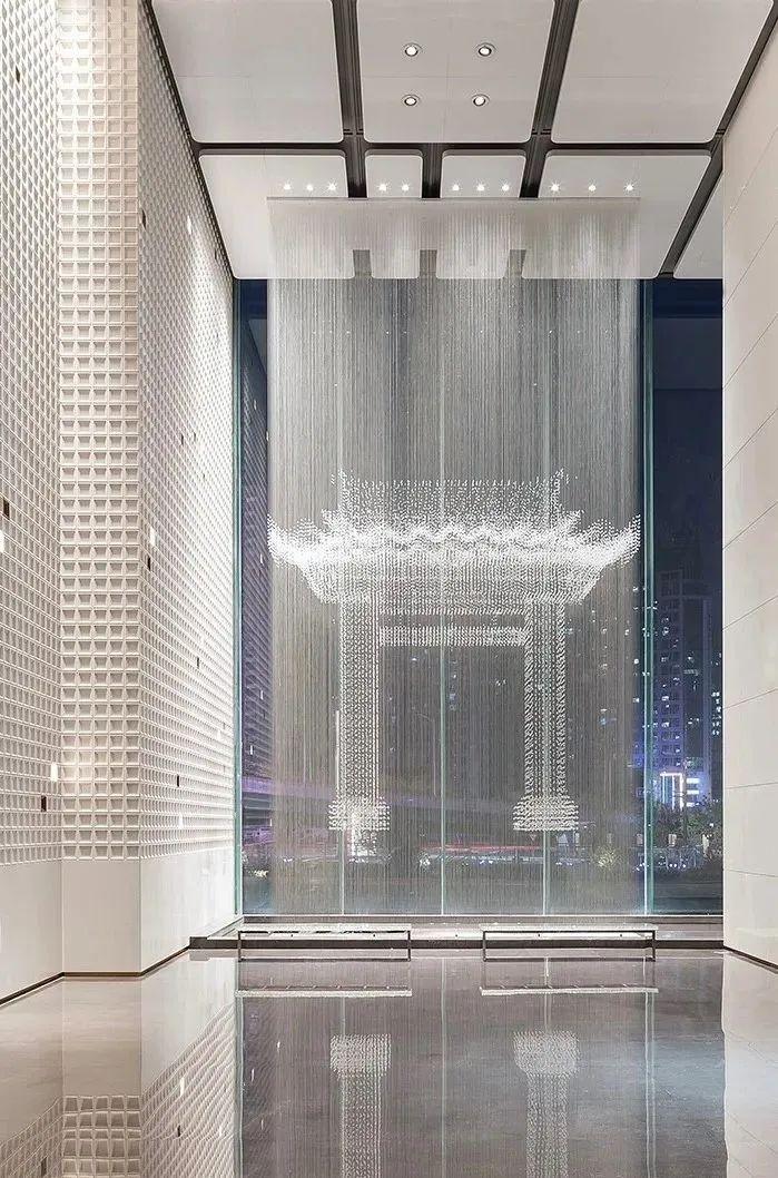 全球最高的三塔连体建筑_南京金鹰世界设计_12