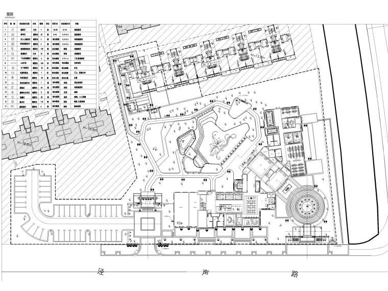 [江苏]无锡锡北金茂示范区景观工程施工图-灯具布置平面图