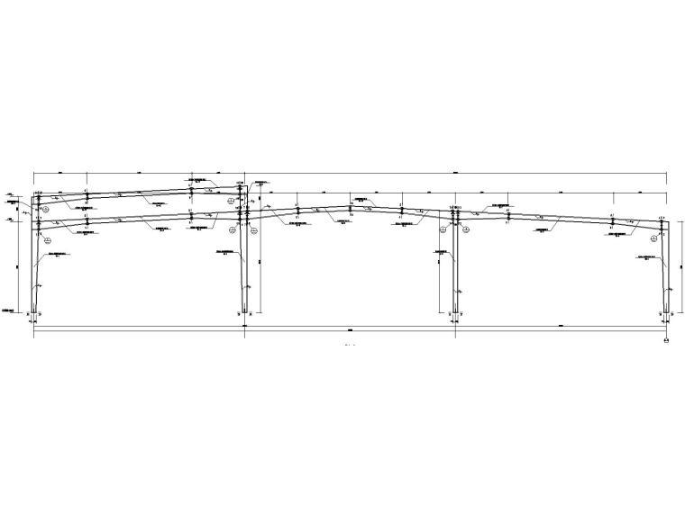 [遵义]框架+门式刚架结构厂房结施图纸2018-刚架构造图