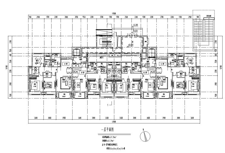 绍兴低密度社区-独栋+高层户型图设计-绍兴低密度社区- 独栋+高层户型图设计 (1)