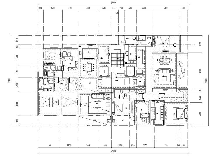 绍兴低密度社区-独栋+高层户型图设计-绍兴低密度社区- 独栋+高层户型图设计 (2)