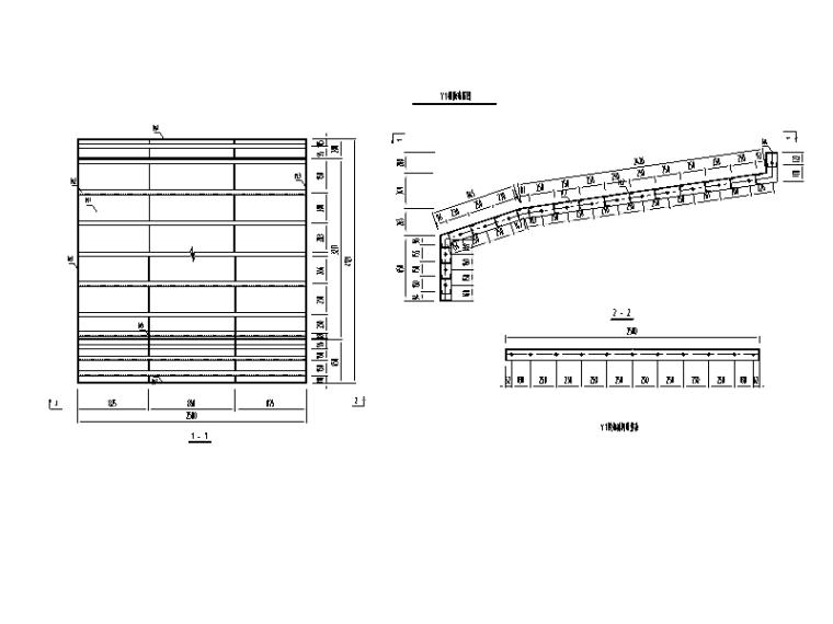 [广西]桥梁工程挂篮悬浇专项施工方案-模板布置图