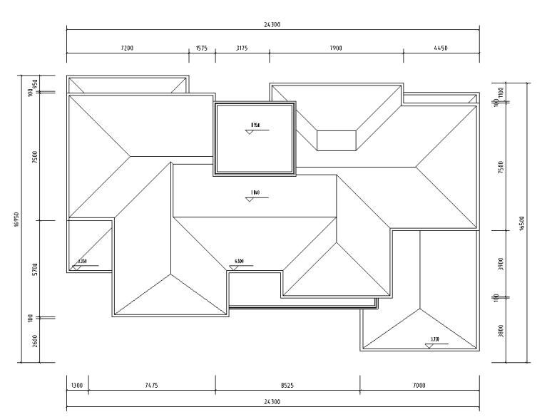 绍兴低密度社区-独栋+高层户型图设计-绍兴低密度社区- 独栋+高层户型图设计 (5)