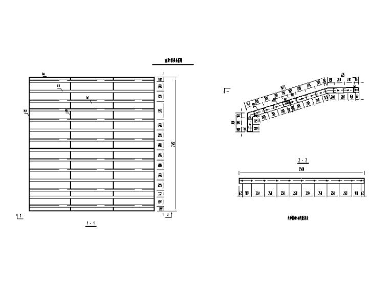 [广西]桥梁工程挂篮悬浇专项施工方案-内顶模布置图