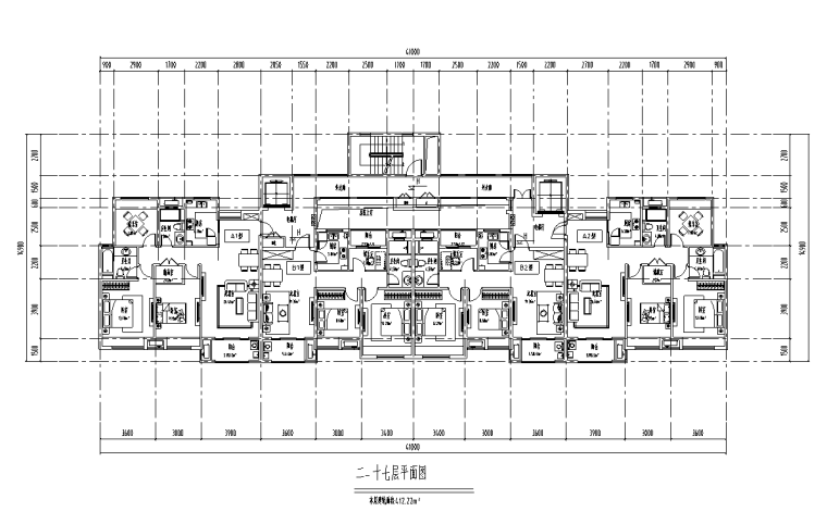 绍兴低密度社区-独栋+高层户型图设计-绍兴低密度社区- 独栋+高层户型图设计 (6)