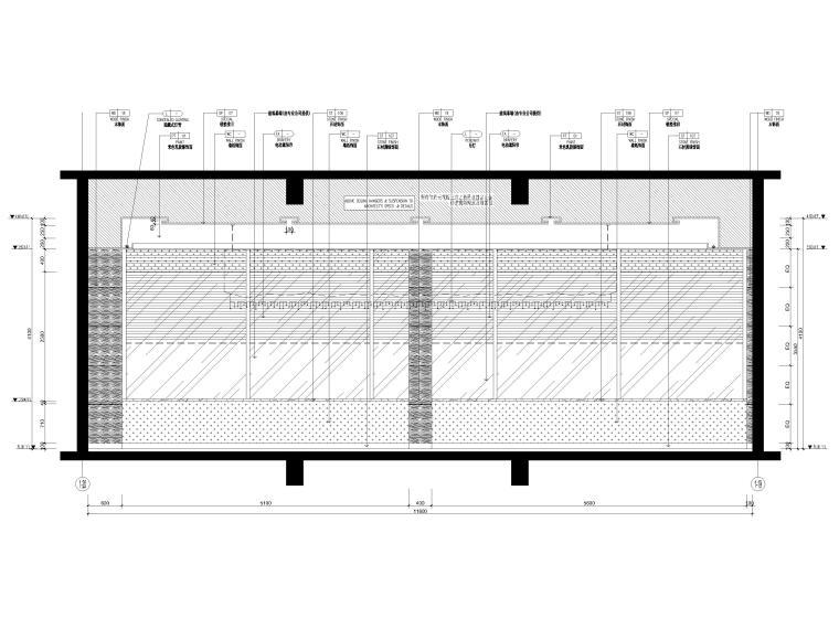[三亚]海居Pullman度假酒店室内装修施工图-会议室立面图