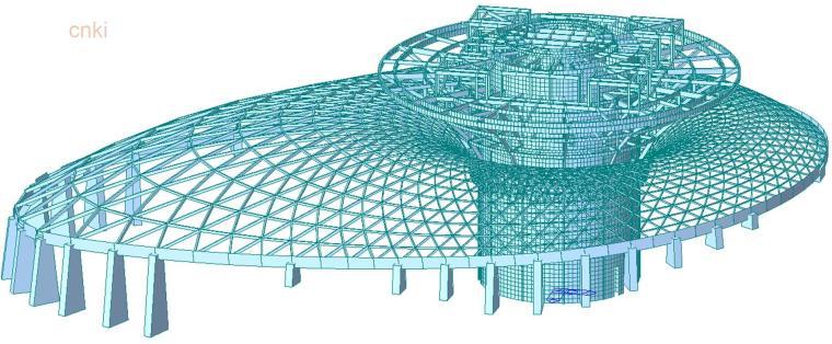 如何做好钢结构设计系列讲座资料下载-浙江佛学院二期工程龙华法堂钢结构设计