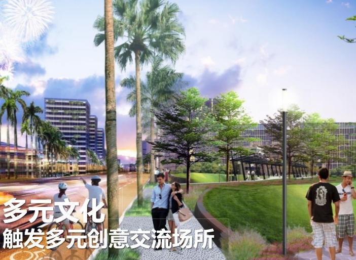 三亚科技城6000亩规划概念方案文本2019-效果图4