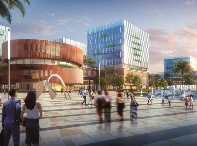 三亚科技城6000亩规划概念方案文本2019-效果图6