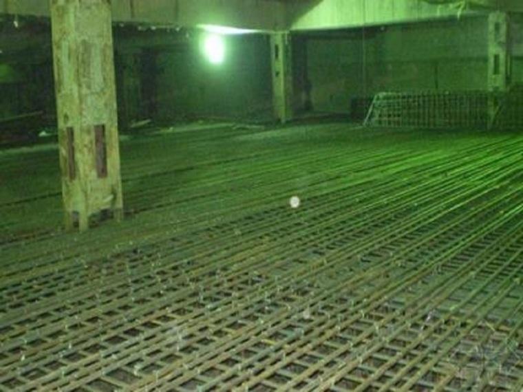 高层建筑全逆作法施工工法-基坑