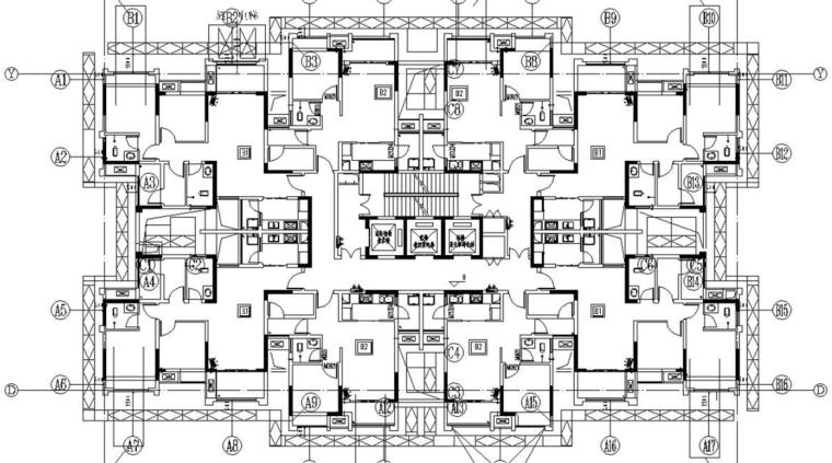 悬挑式卸料平台工程安全专项施工方案-03 卸料平台平面布置图