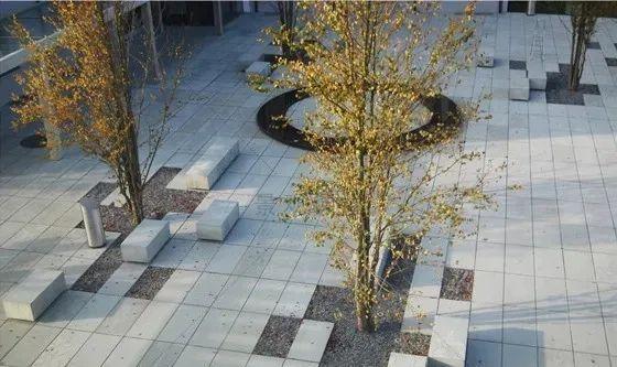 景观设计不只是种树,还有铺装、小品和水景_3