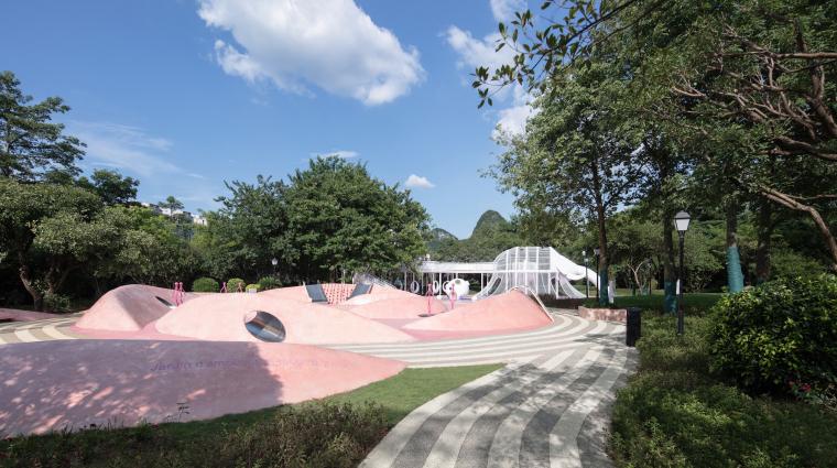 柳州融创江南林语示范区景观-20200811145833355