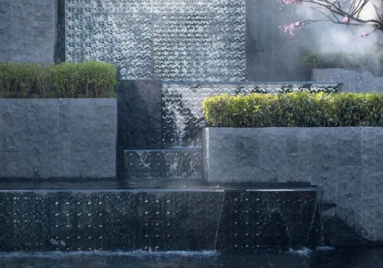 景观设计不只是种树,还有铺装、小品和水景_26
