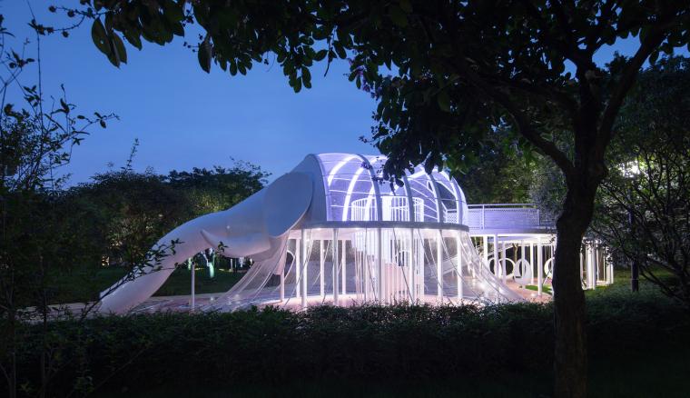 柳州融创江南林语示范区景观-20200811145535608