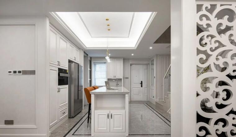 现代美式轻奢风的住宅-3c522d131c33141312e84a55f00503f9