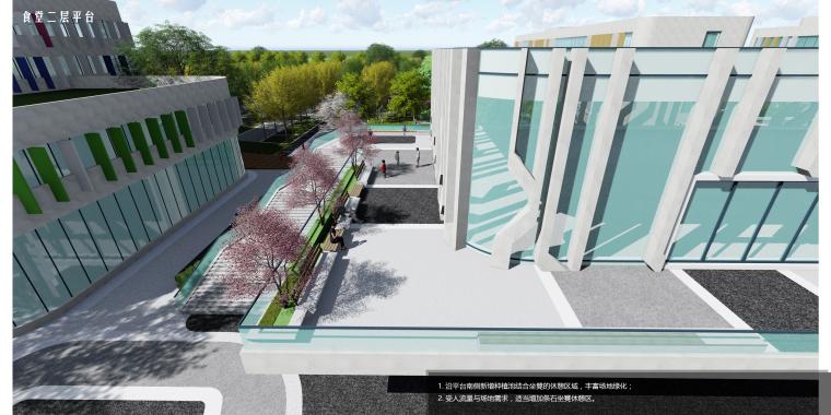 [江苏]南京师范大学附属镇江小学景观方案-食堂二层平台