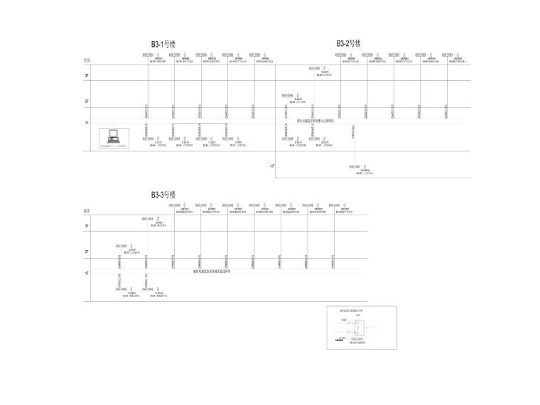 8.96万平标准化厂房电气施工图-8消防电源监控系统图_副本