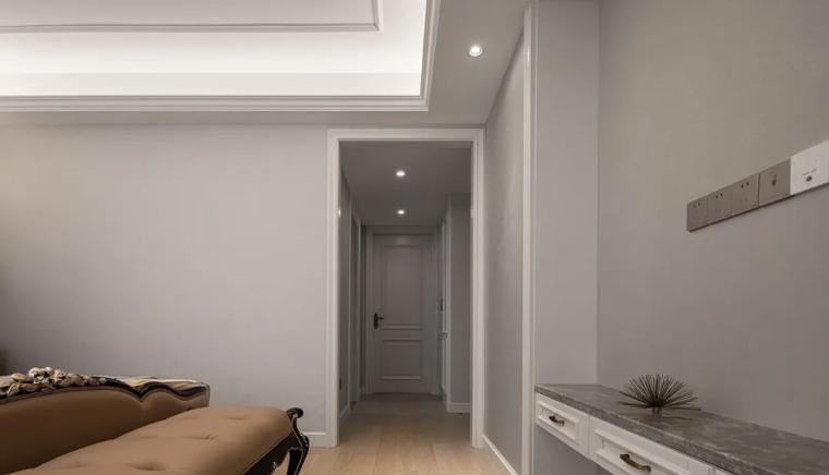 现代美式轻奢风的住宅-47b2f47a4e3f76026c19cdb2489e6234