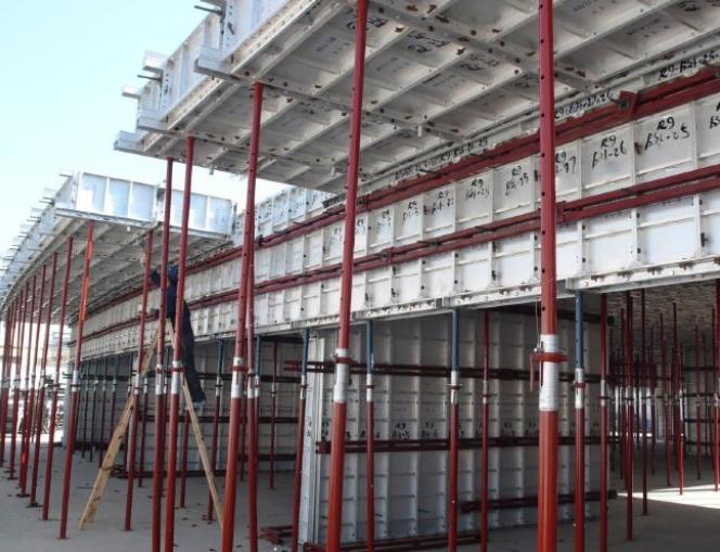 铝合金模板安全专项施工方案-04 支撑系统