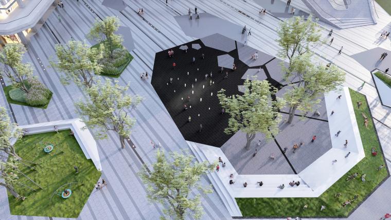 哈尔滨博览城市展厅前广场景观-20200717173333418