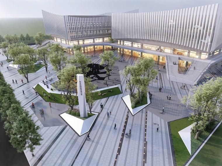 哈尔滨博览城市展厅前广场景观-20200717173307581_副本