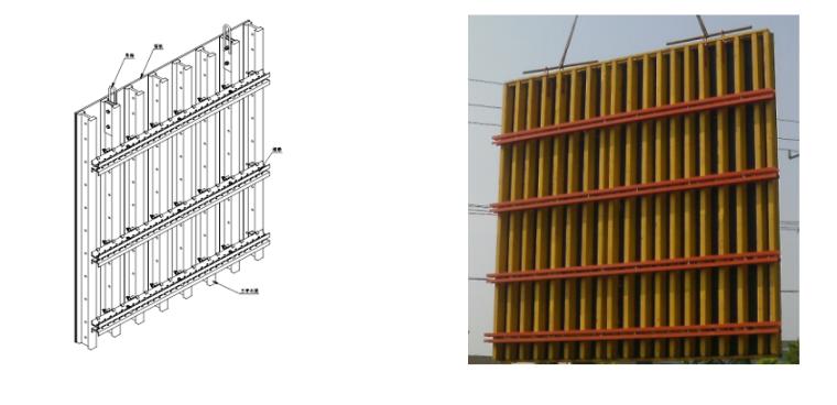 超高层塔楼核心筒液压爬模安全专项施工方案-04 模板系统