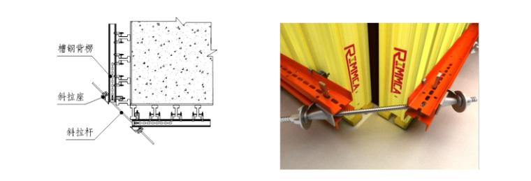 超高层塔楼核心筒液压爬模安全专项施工方案-05 阴、阳角处理方法