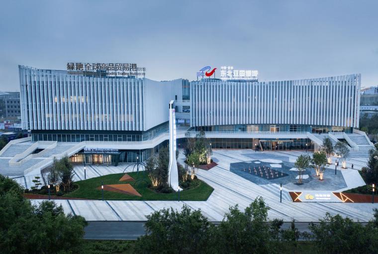 哈尔滨博览城市展厅前广场景观-20200717172315628
