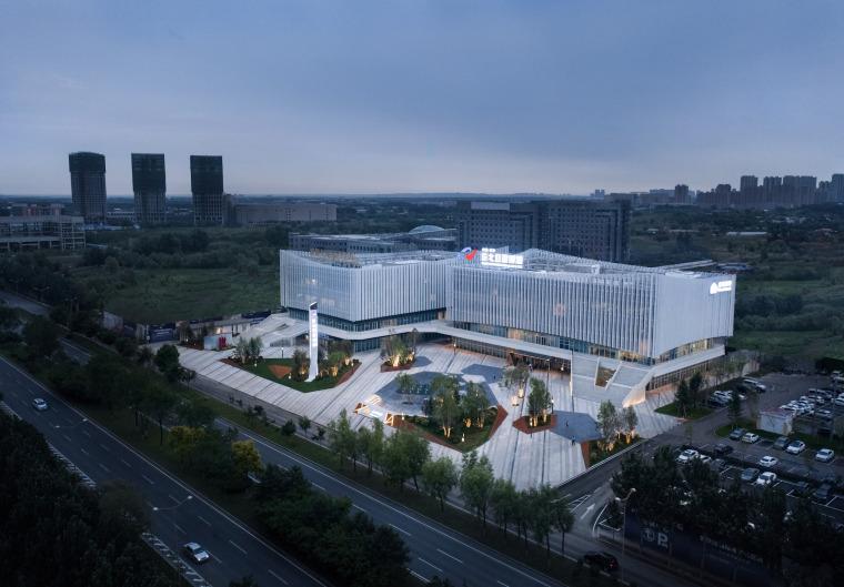 哈尔滨博览城市展厅前广场景观-20200717172318786