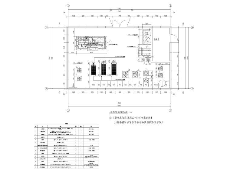 换★热机房图纸资料下载�I-深井一分钟一开的快3水源热泵机房设计,经过梯级换热供小区