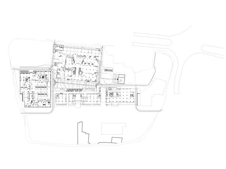 人民医院整体扩建施工图园林及围墙-标高关系图