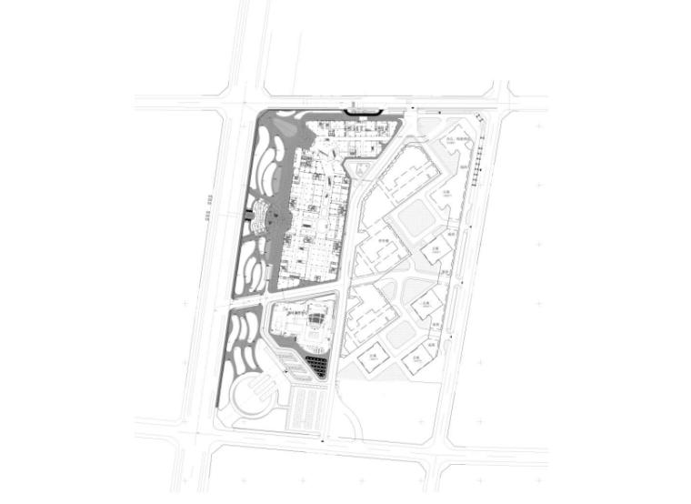 [宁夏]商业中心景观设计CAD施工图-植物