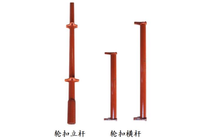 模板工程(轮扣式)安全专项施工方案-03 轮扣立杆、轮扣横杆大样