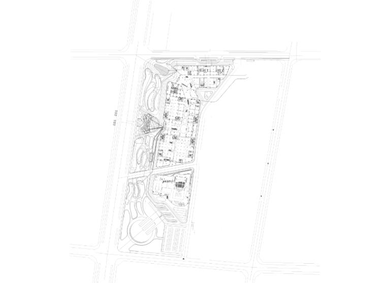[宁夏]商业中心景观设计CAD施工图-电气