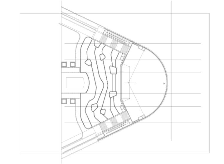 [宁夏]商业中心景观设计CAD施工图-下沉景观