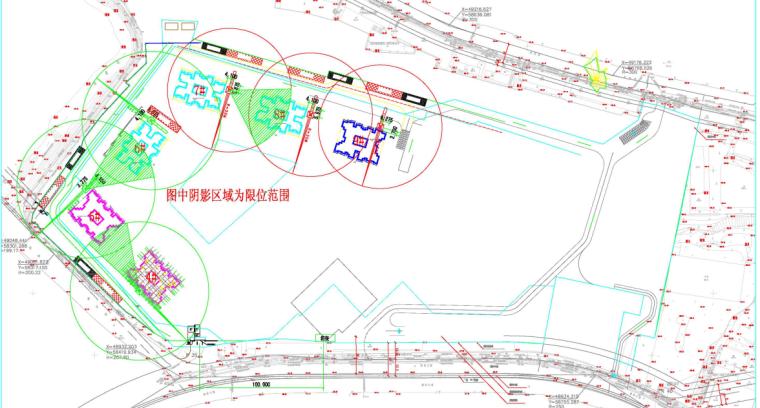 群塔作业防碰撞安全专项施工方案-02 施工总平布置图
