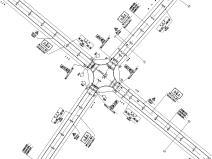 新建道路交通工程图纸_预算表_招标文件2020