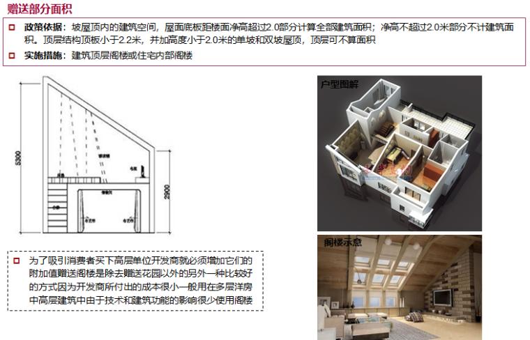 房企户型面积赠送研究(83页,图文)-顶层