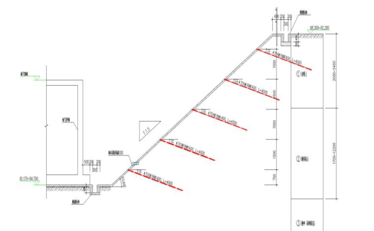 深基坑支护与土方开挖安全专项施工方案-10 排水沟示意图