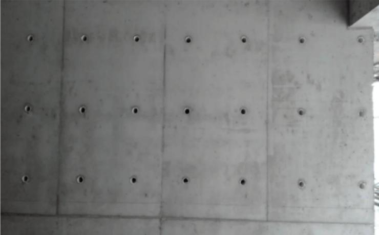 变形缝处剪力墙柱模板施工专项施工方案-02 拆模得砼剪力墙
