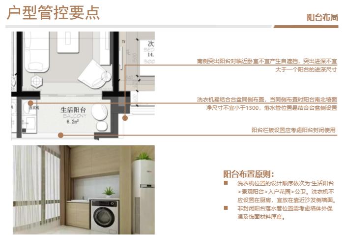 知名房企住宅标准化户型库使用指引(2019年)-阳台布局