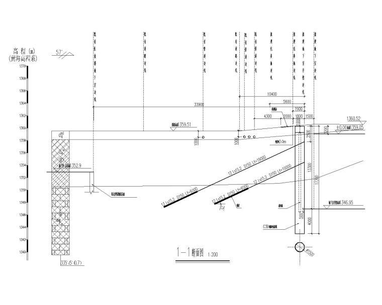 南京林业大学广场设计资料下载-广场停车绿化基坑边坡支护图纸_清单_招标