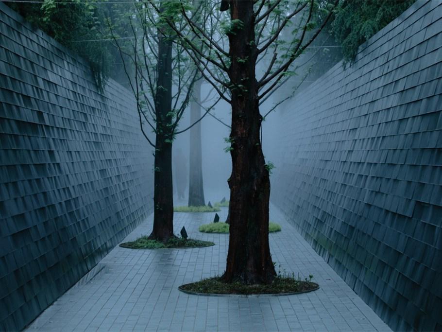 重庆万科城市花园售楼处景观